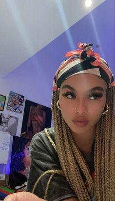 Beautiful Black Girl, Pretty Black Girls, Pretty Woman, Baddie Hairstyles, Black Girls Hairstyles, Pretty Hairstyles, Protective Hairstyles, Braided Hairstyles, Twists