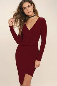 When it comes to comebacks you're quick to the draw, which is why you and the Right Back Atcha' Purple Long Sleeve Dress would make the perfect pair! Soft and stretchy jersey knit shapes a long sleeve bodice with a high, rounded neckline. A scooping open back elegantly drapes above a figure-hugging tube skirt for a sultry but sophisticated look.