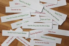 Smashed Peas and Carrots: An Experience Christmas Advent {Free Printable}
