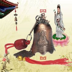 China Tibetan Buddhism Goddess Mercy Buddhist Temple Feng Shui Bell    Get Now  this Great Novelty. Take a look By_touch2 and buy this giftNow!