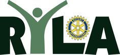 The  official logo for the Rotary Youth Leadership Awards program of Rotary International