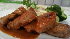 Filete de cerdo en salsa de guayaba