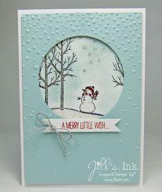 White Christmas MnT Card