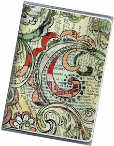 Passport Cover  Out of Print Floral passport by rabbitholeonline, $5.25