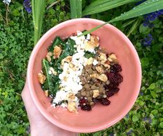 Stewed Lentils with Feta and Sauteed Greens — Still Hungry.