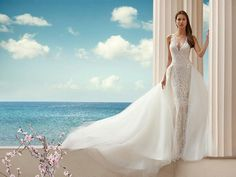 Demetrios wedding gowns & dresses makes luxury affordable. Explore all of our wedding gowns & evening dresses collections and find a store near you. Sophisticated Wedding Dresses, Most Beautiful Wedding Dresses, Glamorous Wedding, Perfect Wedding Dress, Lace Wedding Dress, Sexy Wedding Dresses, Wedding Gowns, 2017 Bridal, Bridal Gowns