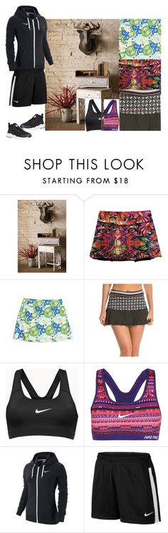 """Untitled #78"" by utitito on Polyvore featuring CCM, Trina Turk, NIKE, women's clothing, women's fashion, women, female, woman, misses and juniors"