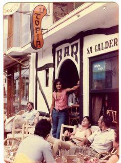 Utopia, Ibiza, 1970s #IbizaAntigua #eivissa