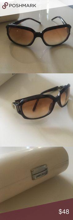 96e82e069b2 Jimmy choo tortoise sunglasses Super cute sunglasses with original case Jimmy  Choo Accessories Sunglasses Cute Sunglasses