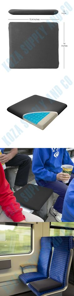 Massage Pillows and Bolsters: Gel Seat Cushion Pad For Wheelchair Chair Power Protection Cooling Memory Foam -> BUY IT NOW ONLY: $35.03 on eBay!