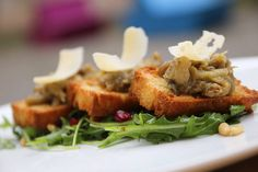 Bruschetta s lilkovým kaviárem Bruschetta, Meat, Food, Essen, Meals, Yemek, Eten