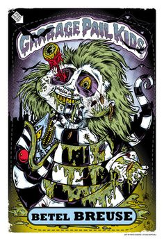 """Rhys Cooper. From """"1988 X GPK""""  Garbage Pail Kids group show  September 2 - October 1, 2011."""