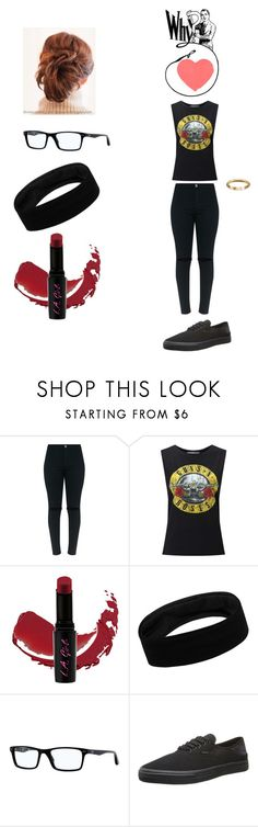 """not another song about love - hollywood ending"" by llallharona on Polyvore featuring Miss Selfridge, L.A. Girl, Ray-Ban and Levi's"