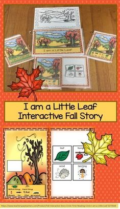 I am a Little Leafis a fall poem about a leaf. This poem is a great one for Circle Time or to set up in a Reading Center. This has been differentiated so that a variety of students are able to use it. Perfect for preschool, kindergarten, first grade, and