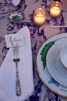 Rebecca Gardner tablescapes - Photo by Chia Chong