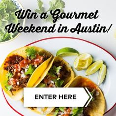 Foodies and Travel Buffs: This One's for You  Dine Deliciously Sweepstakes