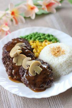 Filipino Salisbury Steak