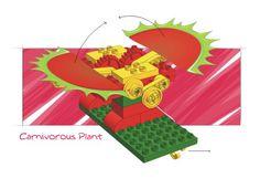 LEGO Models (9654) | 2002 venus fly trap
