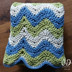 This beautiful blanket can be crocheted with this crochet pattern - featuring Bernat Maker - Home Dec in 3 colors. Get your Free Copy Here