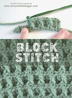 leuk steekje tutorial - block stitch tutorial