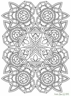 135 printable intricate mandala coloring pages by krishthebrand