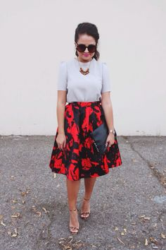 Check out our Lucy Paris skirt on the blog Month of Diamonds