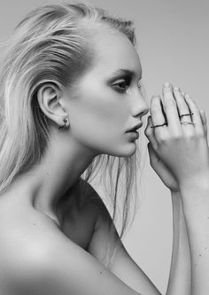 // MAGNEA x AURUM jewellery campaign. Shot by Kári Sverriss  // Makeup&hair by Guðbjörg Huldís  // Model: Sigrún Hrefna @Eskimo Models  // Retoucher: Anna Stanek  // Assistant : Þórunn Eva