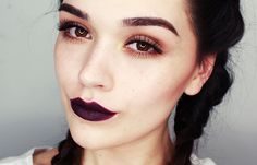i ♥ dark lips | makeup tutorial