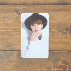 BTS I NEED U JIN Japan ver. official photo card K-POP bangtan