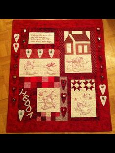 Adventskalender Quilts, Blanket, Projects, Advent Calendar, Log Projects, Comforters, Blankets, Patch Quilt, Kilts
