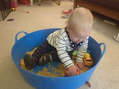 Very Messy Mummy: Cornflakes and Diggers