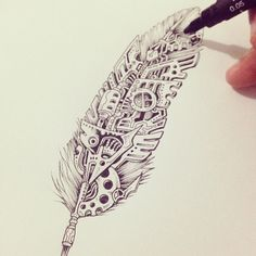 Not your ordinary feather...
