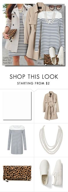 """Outfits You Must Try"" by breathing-style ❤ liked on Polyvore featuring Banana Republic, Oui, Humble Chic, Clare V., Gap and Valentino"