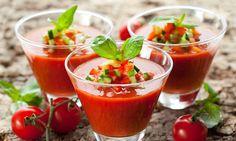 Soup: Gaspacho (Italian Recipe).