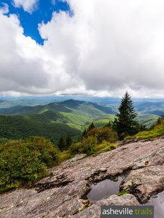 Hike the Mountains to Sea Trail to stunning views from Devil's Courthouse and Black Balsam Knob near Asheville, NC