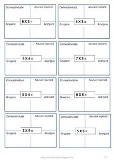 Inmultirea ca adunare repetata by Ema La Scoala Repeated Addition Worksheets, Repeated Addition Multiplication, Romanian Language, Picture Arrangements, Math Workshop, School Resources, Teacher Pay Teachers, Teacher Newsletter, Second Grade