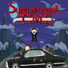 Supernatural Time Come on and grab your salt We're going to slay demons all over the lands.
