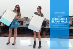 I Spy DIY: ASK THE EXPERT | How to Decorate a Blank Wall
