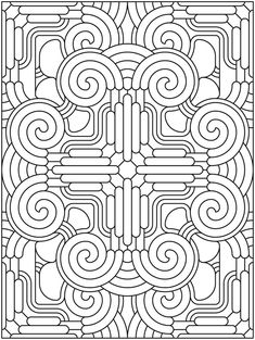 Welcome to Dover Publications Creative Haven Mandala Madness Coloring Book by nenanik Geometric Coloring Pages, Mandala Coloring Pages, Coloring Book Pages, Printable Coloring Pages, Coloring Sheets, Creative Haven Coloring Books, Doodle Coloring, Zentangles, Colorful Pictures