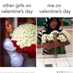 Expectations vs Reality Valentines day