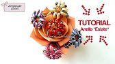 Tutorial Anillo, Earring Tutorial, Diy Tutorial, Beaded Rings, Beaded Jewelry, Handmade Jewelry, Beading Projects, Beading Tutorials, Jewelry Patterns