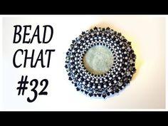 (7) Bead Chat #032 - Beaded pendant - Peyote stitch - RAW - Handmade necklace - YouTube