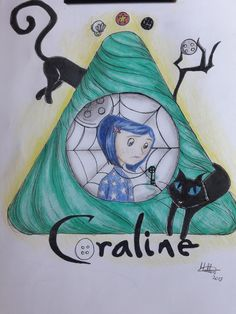 Tim Burton Drawings, Tim Burton Kunst, Tim Burton Art, Scary Drawings, Cool Art Drawings, Disney Drawings, Art Sketches, Coraline Jones, Coraline Drawing