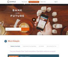 Simple Bank HomePage