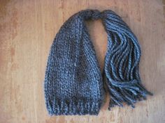 charcoal tassle pixie  newborn  SPECAIL PRICE  by bebebeecouture