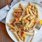 Dinner for Two: Bacon-Butternut Hash Pasta