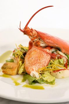lobster salad at the plaza food hall. love!