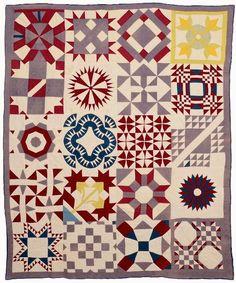 sampler quilt...
