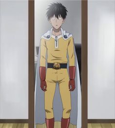 Saitama's time wearing a hero suit — One Punch Man Road to Hero OVA I like his hair by the way Saitama One Punch Man, One Punch Man Anime, One Punch Man Memes, One Punch Man 3, One Punch Man Funny, Otaku Anime, Manga Anime, Anime One, Fanarts Anime