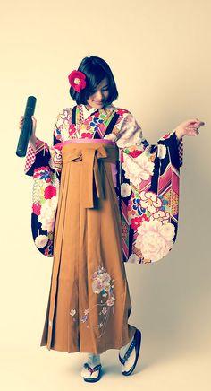 卒業式袴hakama